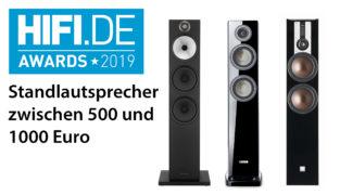 HIFI.DE Awards: Die besten Standlautsprecher zwischen 500 und 1000 Euro