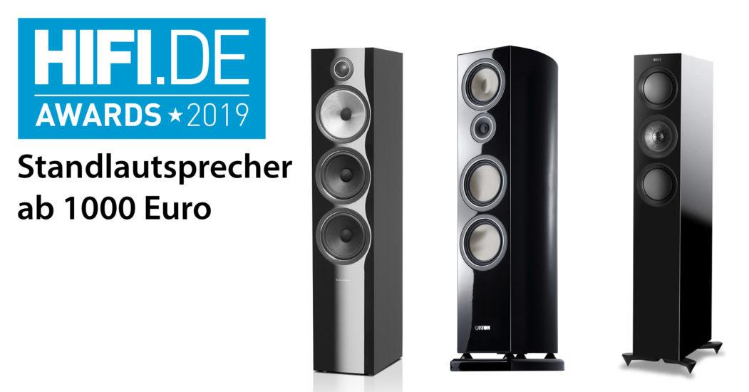 HIFI.DE Awards: Die besten Standlautsprecher ab 1000 Euro