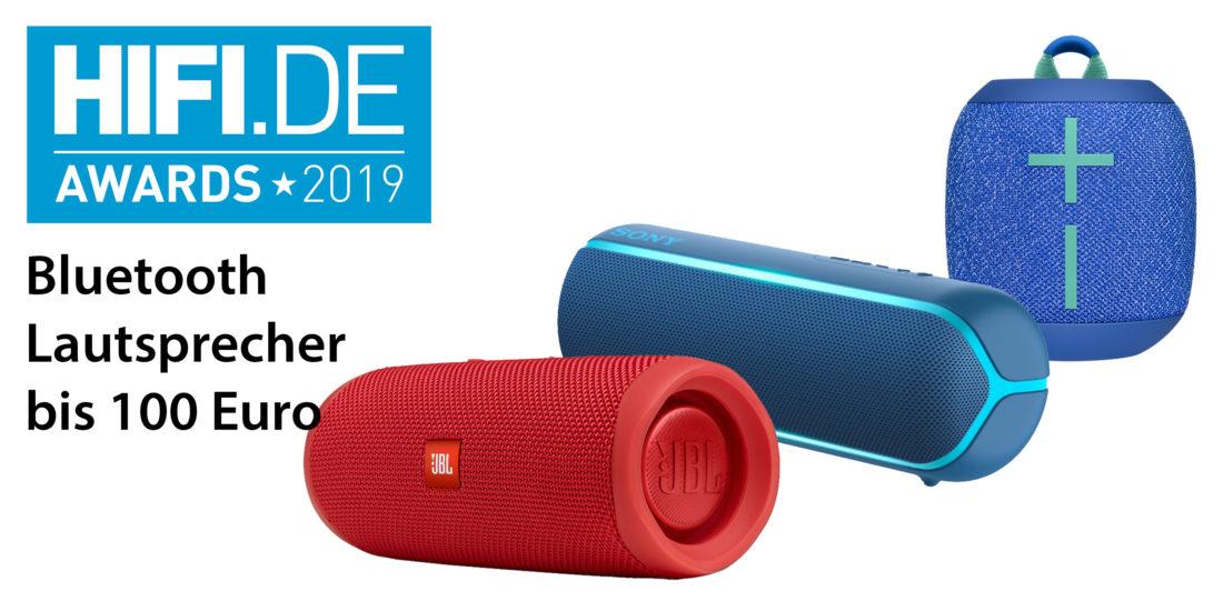 HIFI.DE Awards: Die besten Bluetooth Lautsprecher bis 100 Euro