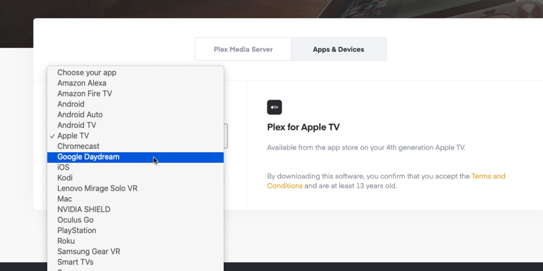 Plex Apps herunterladen