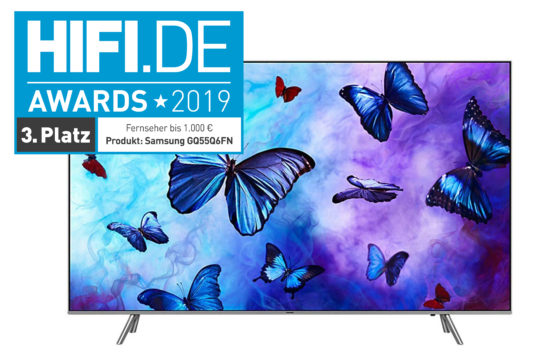 Vorschaubild für HIFI.DE Awards: TVs, Beamer und Video-Streamingdienste