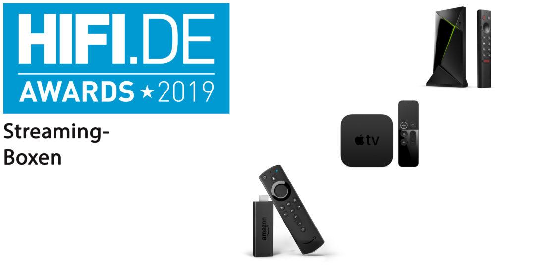 HIFI.DE-Awards: Die besten Streaming-Boxen für Video
