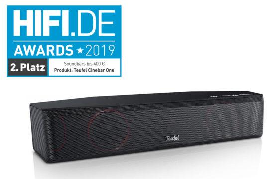 Vorschaubild für HIFI.DE Awards: Die besten Soundbars, Lautsprecher, Plattenspieler und Co.