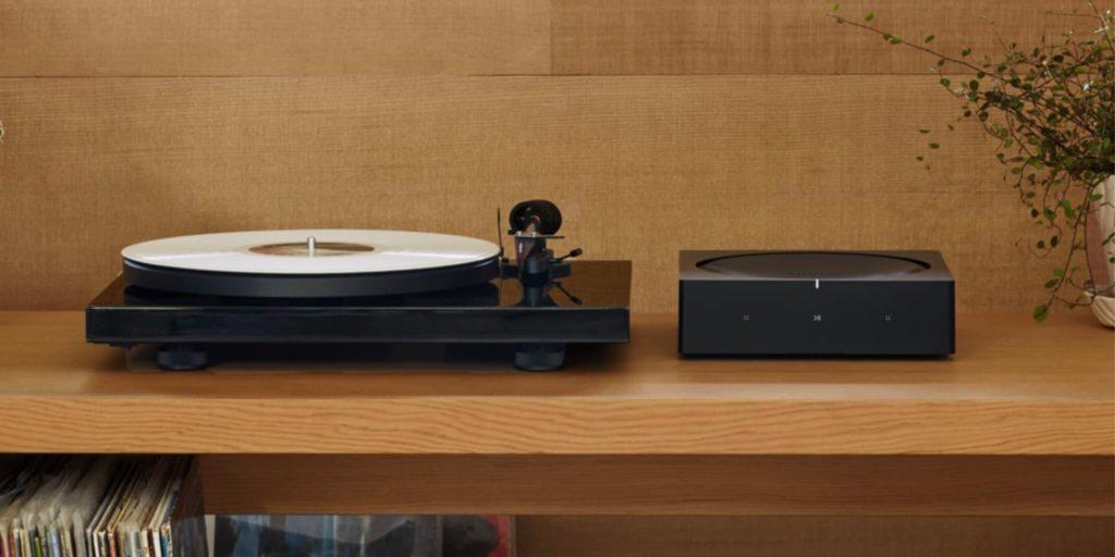 Sonos Amp Plattenspieler