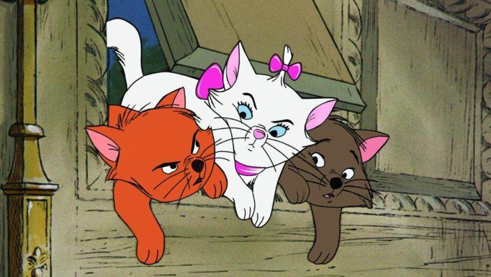 Musik ist eine Lebenselixier in Aristocats auf Disney Plus (Zeichentrick)