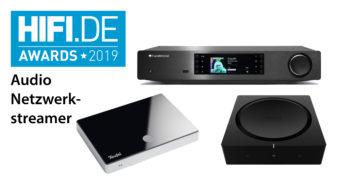 HIFI.DE Awards: Die besten Audio-Netzwerkstreamer