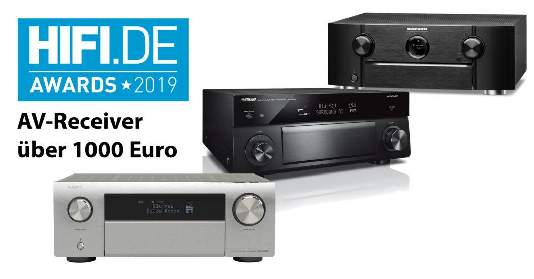 HIFI.DE Awards: Die besten AV-Receiver über 1000 Euro