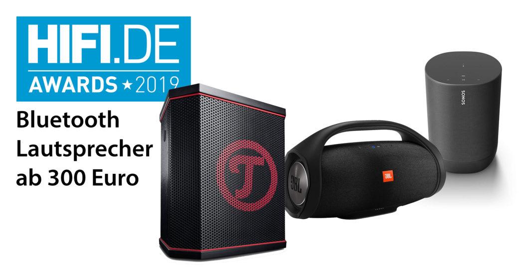 HIFI.DE Awards: Die besten Bluetooth Lautsprecher ab 300 Euro