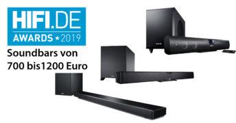 HIFI.DE Awards: Die besten Soundbars von 700 bis 1200 Euro