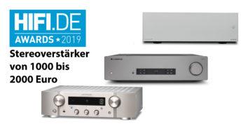 HIFI.DE Awards: Die besten Stereoverstärker zwischen 1000 und 2000 Euro