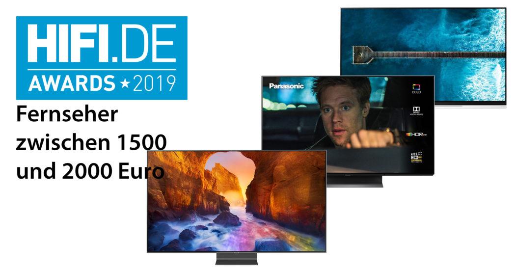 HIFI.DE-Awards: Die besten TVs zwischen 1500€ und 2000€