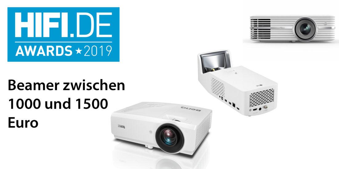 HIFI.DE-Awards: Die besten Beamer von 1000€ bis 1500€