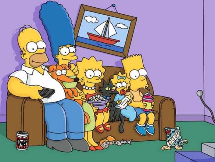 Bei Disney Plus: Die Simpsons Staffel 1-30