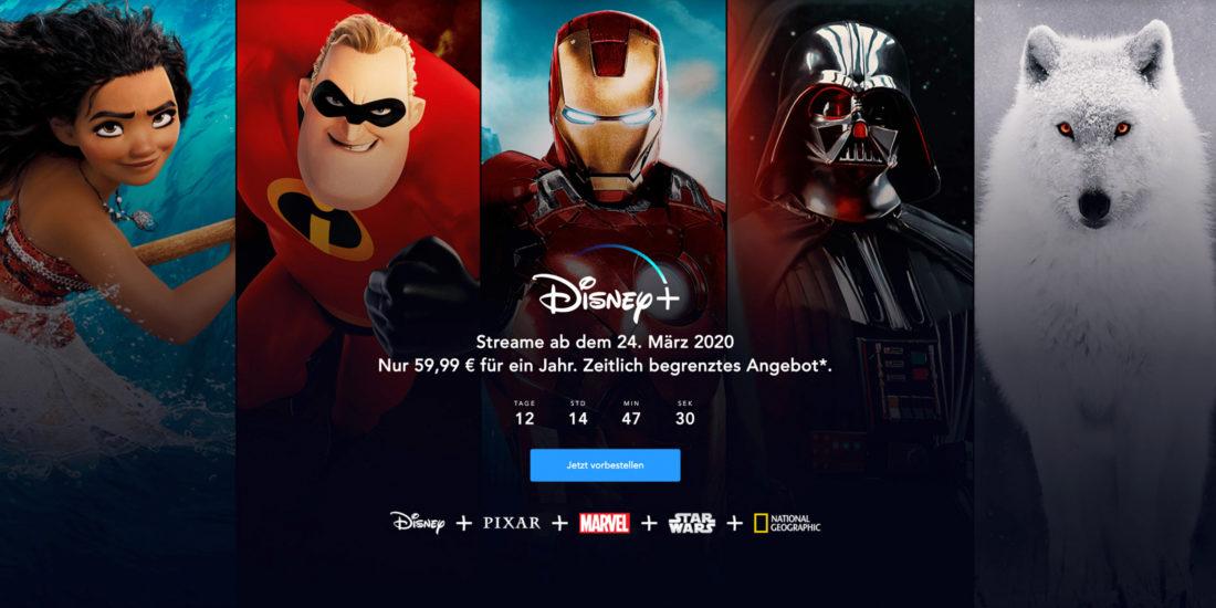Disney Plus: Jetzt das Jahresabo mit Rabatt vorbestellen