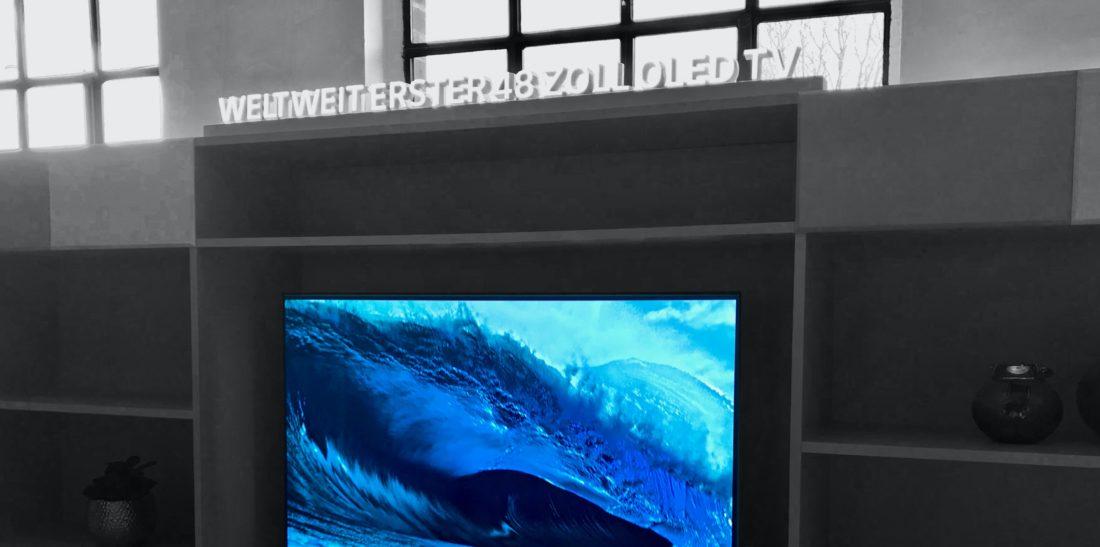 LG Erster 48-Zoll-OLED-TV