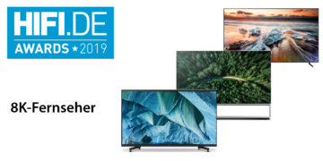 HIFI.DE-Awards: Die besten 8K-Fernseher