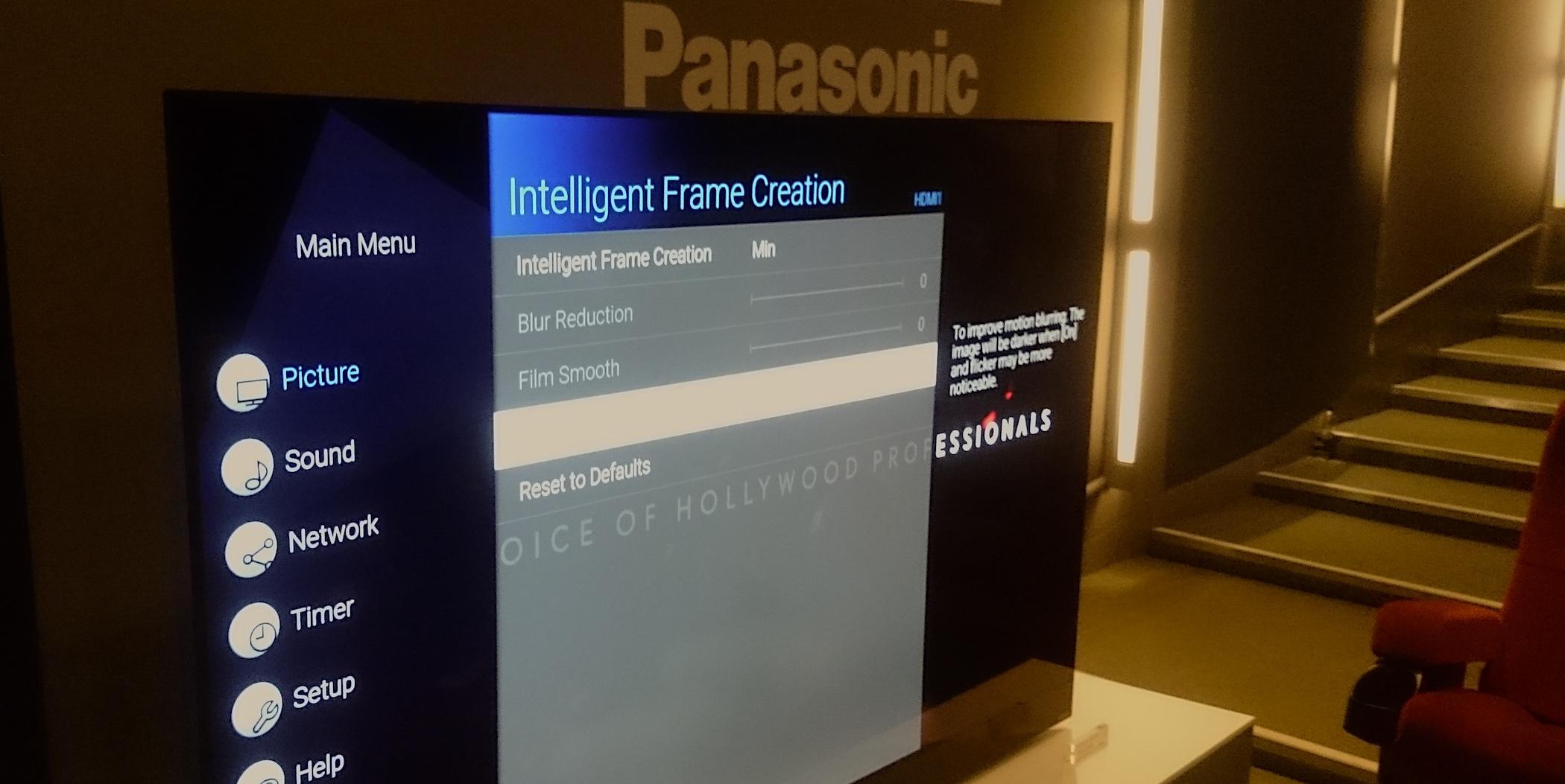 Neue Panasonic-Fernseher: Bessere Zwischenbildfunktion 2020