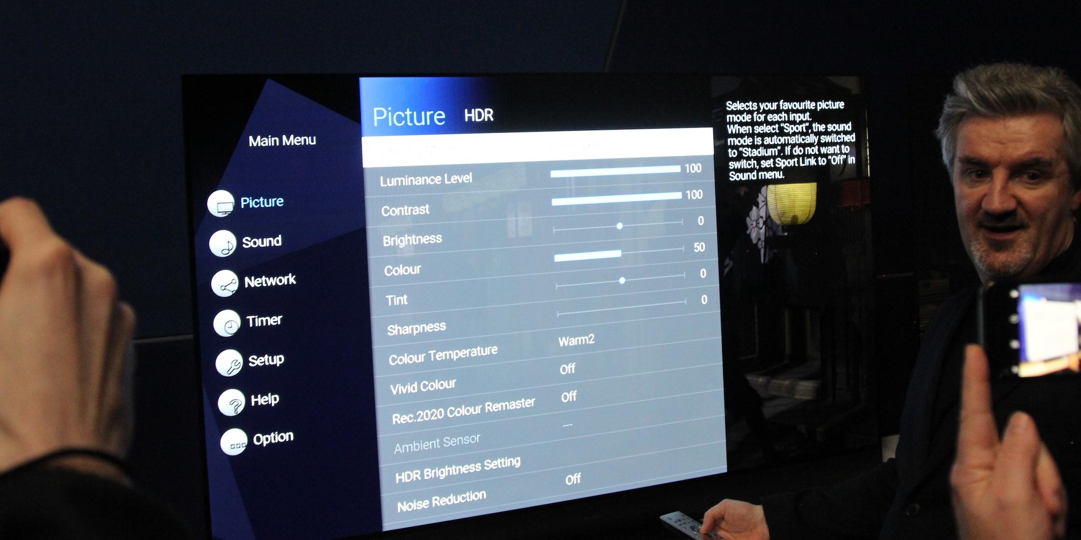 Filmmaker-Mode bei Panasonic