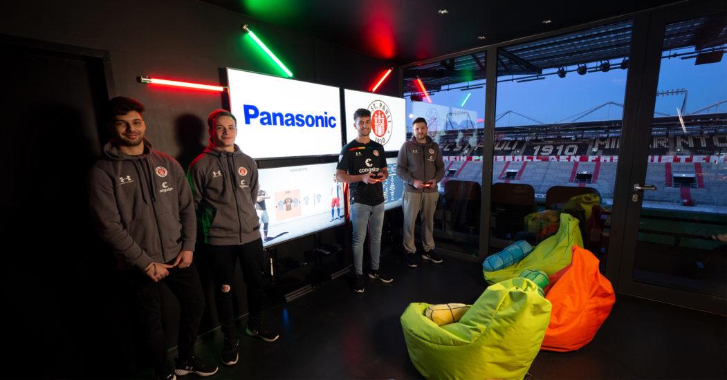 Panasonic wird neuer eFootball-Partner des FC St. Pauli