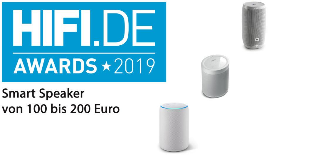 HIFI.DE-Awards: Die besten Smart Speaker von 100 bis 200 Euro