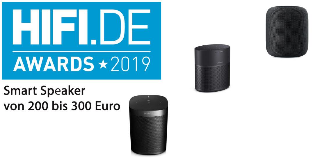 HIFI.DE-Awards: Die besten Smart Speaker von 200 bis 300 Euro