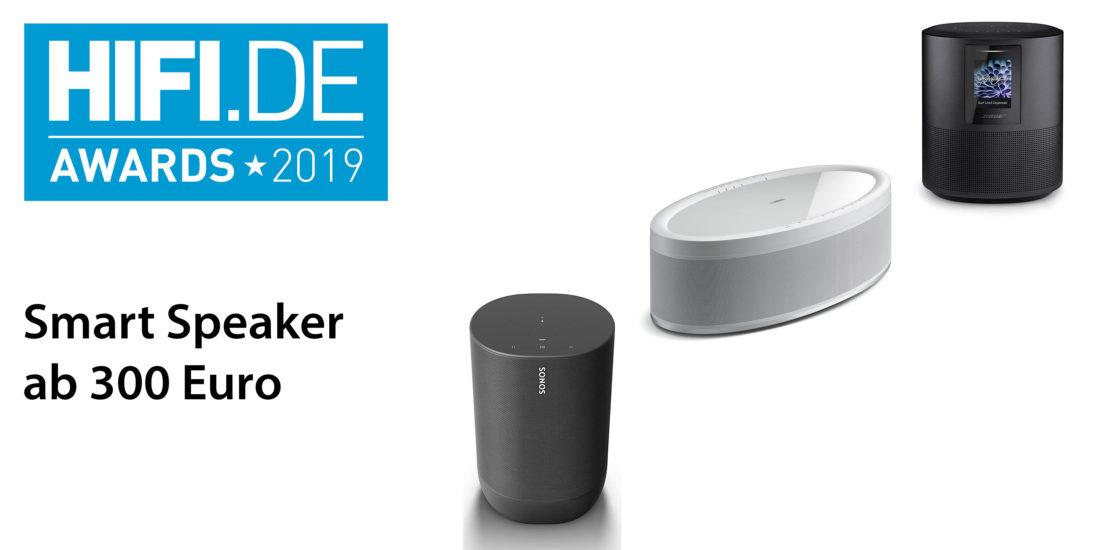 HIFI.DE Awards: Die besten Smart Speaker über 300 Euro