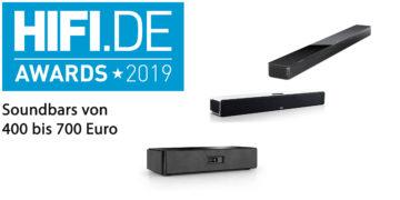 HIFI.DE Awards: Die besten Soundbars von 400 bis 700 Euro