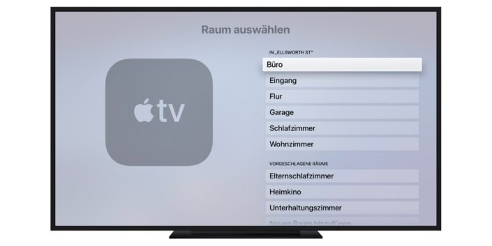 Apple TV externer Speaker