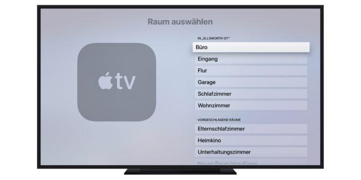 Apple TV externer Speaker