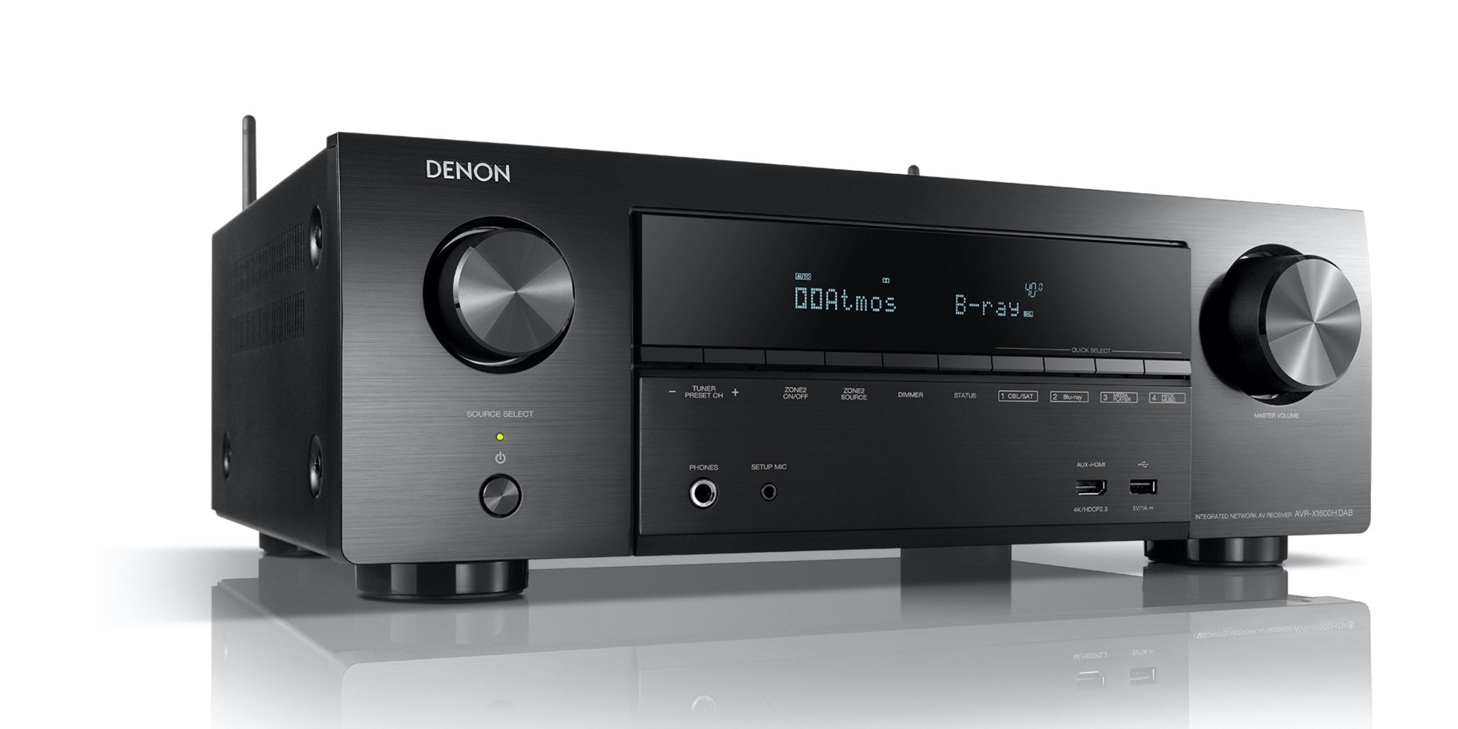 AVR-X1600H DAB Streaming