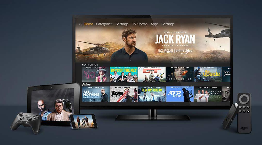 Amazon auf TVs und mobilen Endgeräten