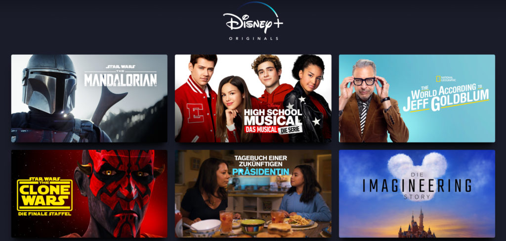 Disney Plus Originals