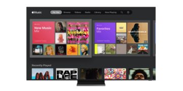 Apple Music auf Samsung TV