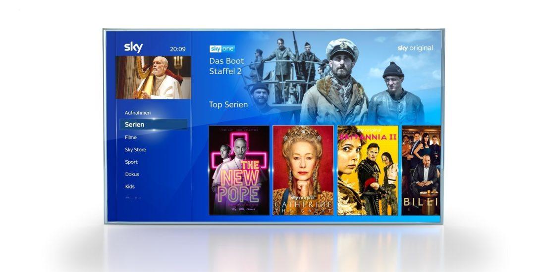 Sky Q-App auf LG Smart TV