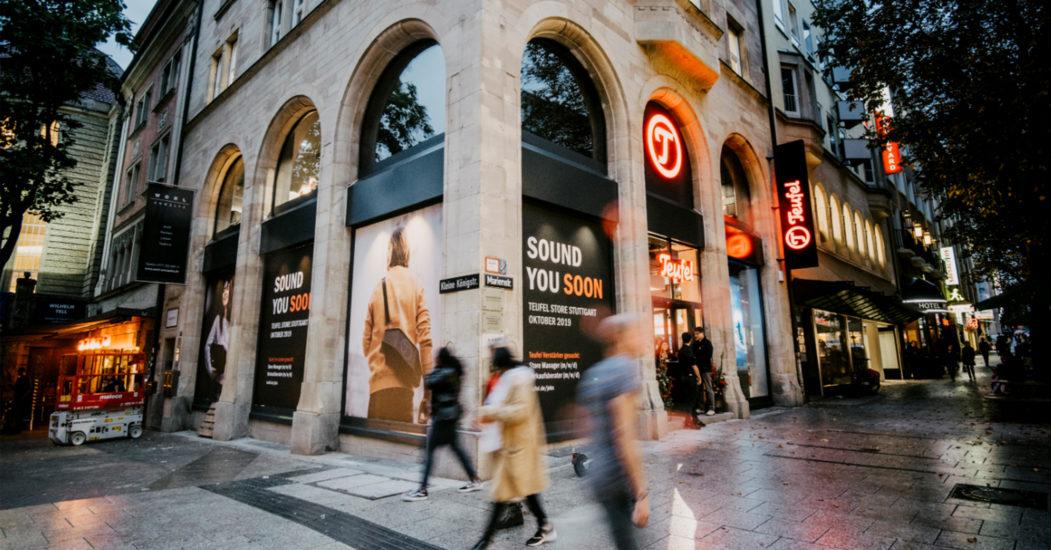 Teufel Store in Stuttgart