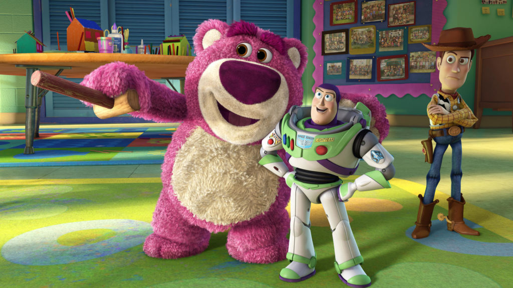 Toy Story 1-3 sind bei Disney Plus verfügbar.