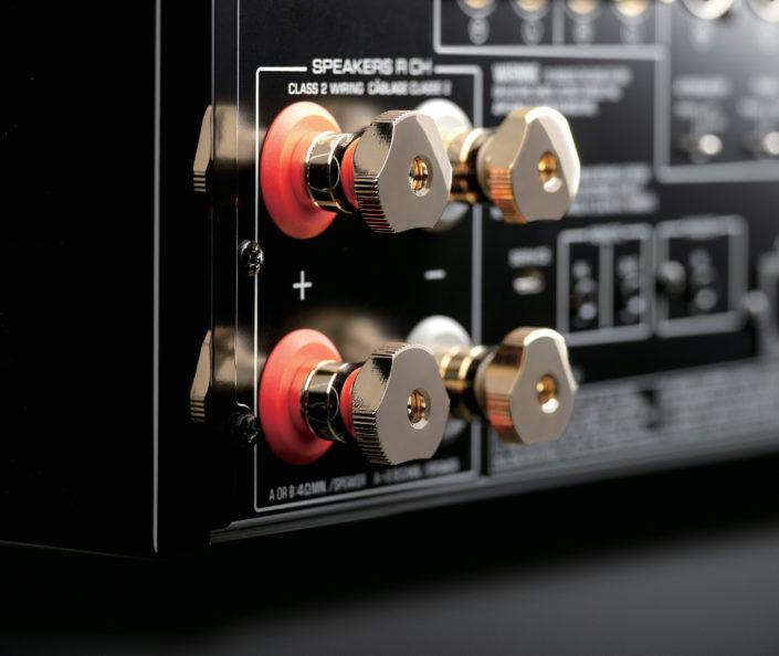 Lautsprecher-Terminals aus Messing