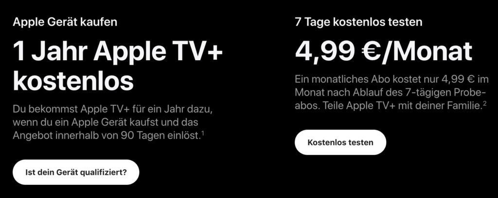 Apple TV Abo