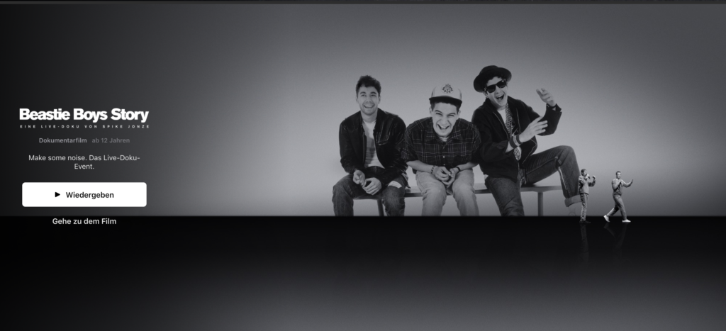 Beastie Boys Story bei Apple TV Plus