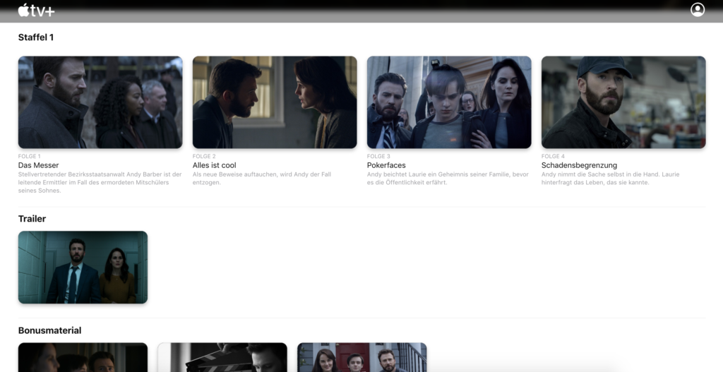 Verschwiegen bei Apple TV Plus