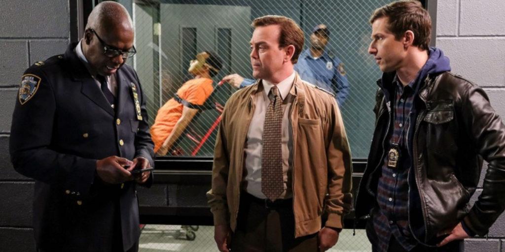 Andy Samberg (links) glänzt als lustiger Polizist in der Sitcom Brooklyn Nine-Nine. |Bild: Fox