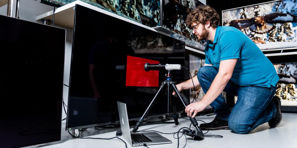 Wie wir Fernseher testen