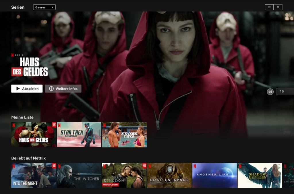 Haus des Geldes ist laut Netflix die erfolgreichste nicht englischsprachige Serie auf der Plattform. |Bild: Netflix