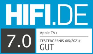 HIFI.DE Testsiegel für Apple TV Plus im Test: Wie gut ist der Streaming-Dienst?