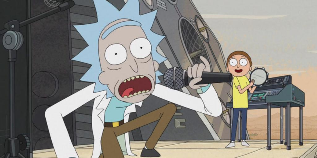 Rick & Morty hat die Welt der Animationssendungen auf den Kopf gestellt. | Bild: Adult Swim