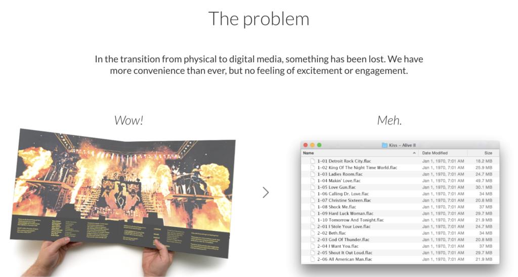Roon digitalisierte Musik
