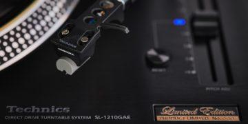 Zum Jubiläum: Technics-Plattenspieler SL-1210GAE Limited Edition
