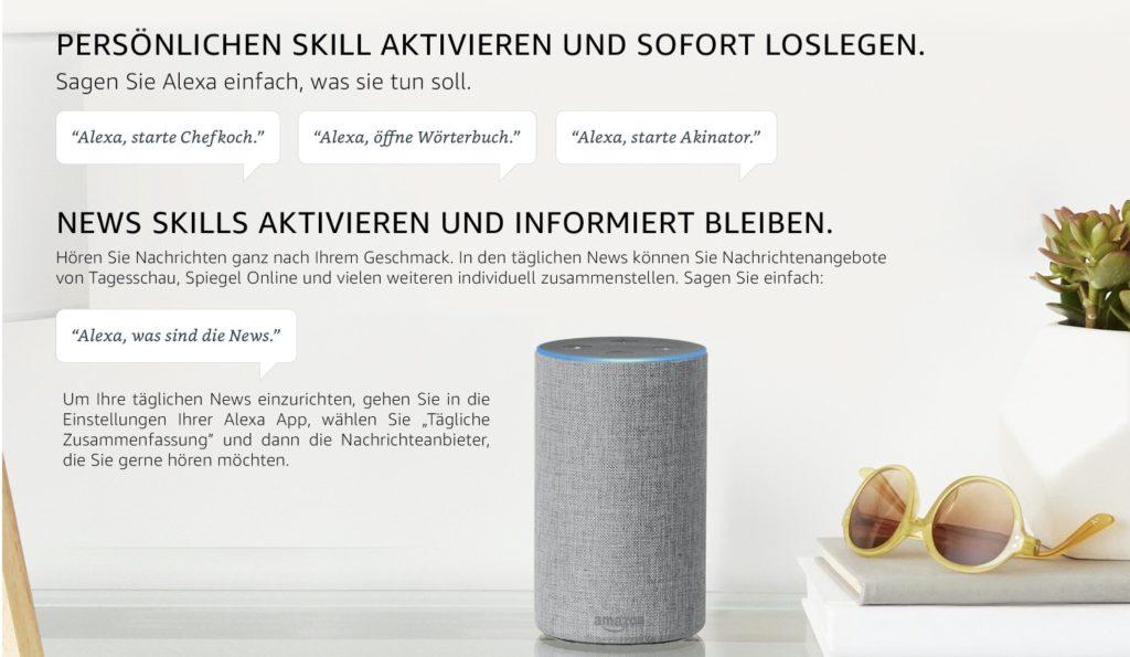 Amazon Alexa-Skills