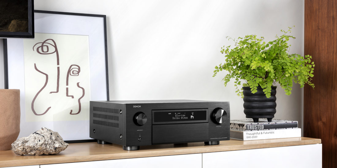 Denon bringt AV-Receiver mit 8K