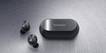 Die Technics-Tru-Wireless-In-Ear-Kopfhörer EAH-AZ70W in Schwarz